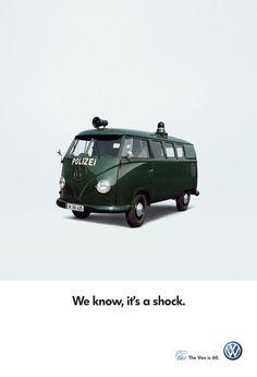 Volkswagen Transporter T1 60 Years Anniversary Ads