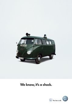 "T1 Polizei - German police van. BBC Boracay says: "" Change the shocks.."""