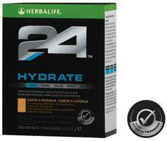 #H24 #Hydrate de #Herbalife Hydrate es una bebida sin calorías y con #electrolitos diseñada para estimular el consumo de líquido. Contiene el 100% de la CDR (Cantidad Diaria Recomendada) de Vitamina C que ayuda a reducir el cansancio y la fatiga.