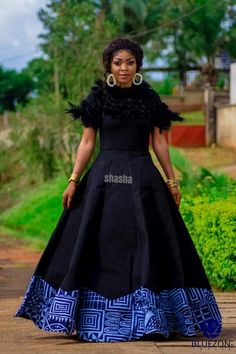 Sha Sha New Presents Multi-Color Toghu Inspired Look-Book African Print Dresses, African Dresses For Women, African Fashion Dresses, African Women, Fashion Outfits, South African Traditional Dresses, Traditional Fashion, Traditional Outfits, Black Tie Wedding Attire