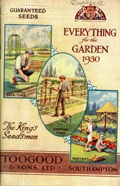 Catalogue for Toogood Seeds, by Appointment to the King   1930
