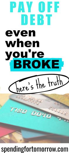 Debt Payoff When You're Broke - paying off debt doesn't have to be a struggle. These tips will help you achieve your budgeting goals. #debtpayoff #moneymanagement #budgetingtips Budget Binder, Monthly Budget, Budgeting System, Budgeting Tips, Happiness Comes From Within, Debt Tracker, Plan For Life, Debt Snowball, Feeling Hopeless