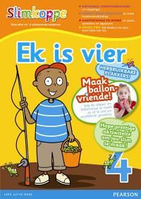 Slimkoppe Ek is vier: Voorskool (Afrikaans, Paperback): C. Bloch, A. Connelly, A. Koopman, J. Counting Books, Baby Health, Books To Buy, Afrikaans, Early Learning, Diy Toys, Childrens Books, School Ideas, Preschool