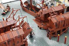 The Hobbit Game, Lego Castle, Cool Lego Creations, Lego Worlds, Lego Architecture, Build Something, Lego Projects, Lego Moc, Lego Building