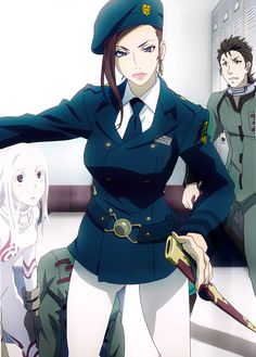 Warden Makina - Deadman Wonderland It's not hard to be strong and beautiful