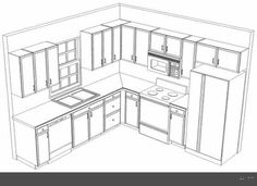 Kitchen Layout L Shaped With Island