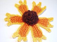 Blanket Flower Crochet Pattern