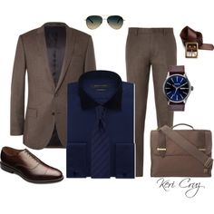 He means Business by keri-cruz on Polyvore featuring Sean John, ASOS, J.Crew, Knomo, Allen Edmonds and Lucky Brand