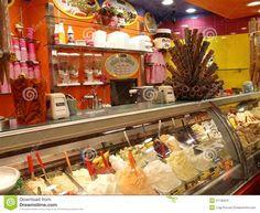Ice-cream shop editorial photo. Image of healthy, ice ...
