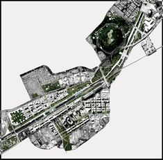 """LCLA office, """"The River that is not"""", Proposal for the Medellín's River Park Design International Competition, 2013. LCLA+Agenda"""