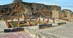 Ruínas de Conímbriga em Portugal #viagem #lisboa #portugal