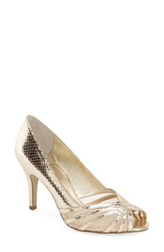 Adrianna Papell 'Fergie' Peep Toe Pump (Women) available at #Nordstrom
