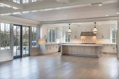 43 Ideas For Living Room Layout Open Concept French Doors Open Kitchen And Living Room, New Kitchen, Kitchen Corner, Corner Pantry, Living Rooms, Beige Kitchen, Kitchen Size, Awesome Kitchen, Kitchen Pantry