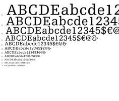 Egyptienne F Complete Family Pack - desktop font - Fonts.com