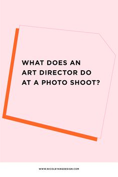 What Does An Art Director Do At A Photo Shoot