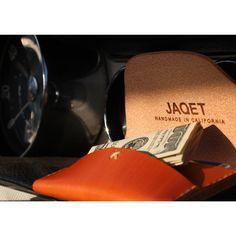 JAQET Saddle Landscape wallet $95