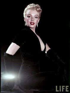 Portraits of Marilyn Monroe by Edward Clarke, 1950