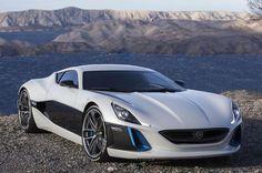 Rimac Concept One #LuxuryHybridCars