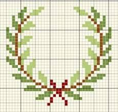 Image result for laurel wreath  cross stitch