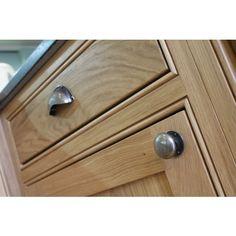 Timeless classic kitchen cupboard door handles in rubbed bronze