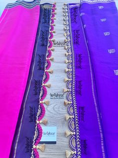 Crochet saree kuchus are Krishne's signature designs and are in the price range of ₹ 500 ~ ₹ 2000. We also conduct saree kuchu workshop(crochet kuchu designs) periodically & have trained more than 800 women through 39 kuchu making workshops since 2015. Call 9916253832 or Click www.krishnetassels.com/tassels to see all the kuchu types, price range & information to place your order.. Saree Kuchu Designs, Blouse Designs, Mysore Silk Saree, Silk Sarees, Signature Design, Tassels, Workshop, Range, Crochet