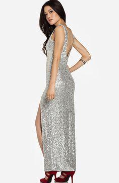 Glamorous Sequin Maxi Dress | DAILYLOOK
