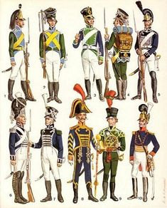 wirtembergian troops- napoleon's foreign troops.