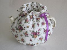 Summer Roses Tea Cosy to Fit 4 to 6 Cup teapots by CosyKozees on Etsy