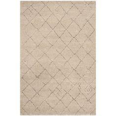 Safavieh Tunisia Ivory Rug (3' x 5') (TUN1511-KMK-3), Size 3' x 5' (Polypropylene, Geometric)