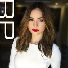 """""""That stare @coleengarcia.  Styled by @adrianneconcept  Makeup by @robbiepinera #hairbyRP  #hair #makeup #ExWithBenefits #ExWithBenefitsThePremiere…"""""""