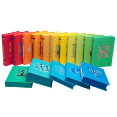 Penguin Drop Cap Series - Juniper Books A Classic book for each letter of the alphabet with beautiful bindings