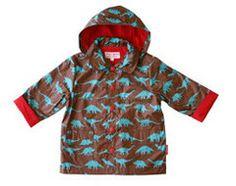 Little Peg's Clothes — Dinosaur raincoat by Toby Tiger