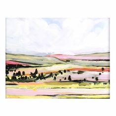 Yellow Hills - 8x10 inch