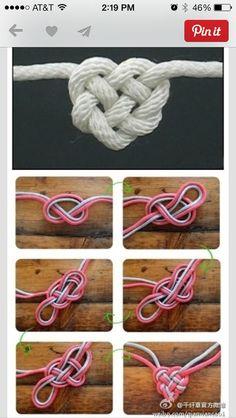 Heart Knot Bracelet