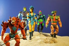Masters of the Universe Classics Skeletor, Evil-Lyn, Triklops, Beastman and  Trap-Jaw photo by thefwoosh