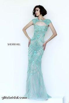 Stunning beaded gown - Sherri hill