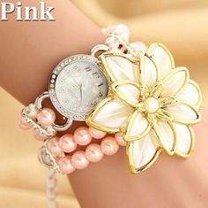 Flower Fashion Quartz Watch Women