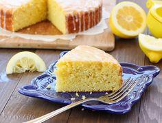 Lemon Cornmeal Olive Oil Cake