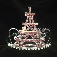eiffel tower beauty queen crown | French Romantic Eiffel Tower Pageant Crown And Tiara - Buy Eiffel ...