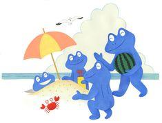 Frog | Toshio Nomura | Tokyo Illustrators Society