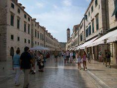 Calle Stardun, Dubrovnik, Croacia