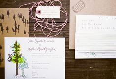 california-outdoor-wedding-invitations