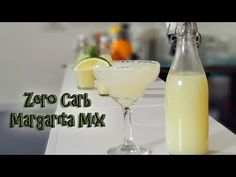 In this video i show you how to make a ZERO car margarita mix, Plus 2 of my favorite mixers. Perfect Margarita 2 oz tequila 2 oz SF Margarita Mix Margarita M. Low Carb Mixed Drinks, Low Carb Cocktails, Perfect Margarita, Margarita Mix, Prickly Pear Margarita, Drink Mixer, Tequila Drinks, Keto Drink, Starbucks Drinks