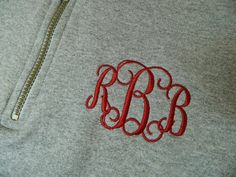 Made to Order Monogrammed Pullover Sweatshirt by personalthreads, $37.00
