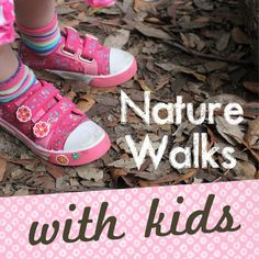 Make the most of a nature walk with kids, a free, inspiring, healthy activity