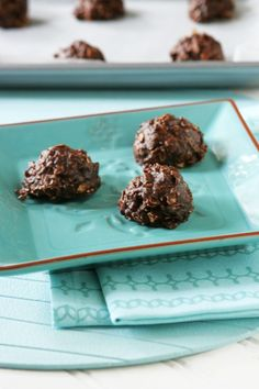 No-Bake Nutella Oatmeal Cookies - Ingredients, Inc.  Gluten Free! I think I can sub coconut oil for the butter and make it dairy free too! SWEET!!!