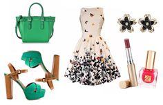 Ein romantisches Outfit für ein Date mit Spaziergang und Picknick im Freien