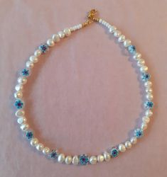 Seed Bead Necklace, Diy Necklace, Necklace Designs, Pretty Necklaces, Cute Jewelry, Beautiful Necklaces, Beaded Rings, Beaded Jewelry, Beaded Necklaces