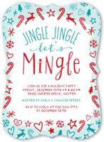 Jingle Jingle Mingle Holiday Invitation