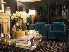 Sweetpea and willow showroom. Elegant Home Decor, Luxury Home Decor, Elegant Homes, Luxury Interior, Interior Design, Interior Doors, Glam Living Room, Living Room Chairs, Living Room Decor
